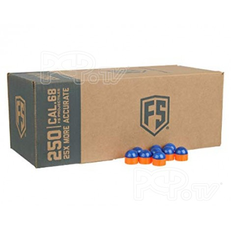First Strike Paintball BleuOrange Bleu-Tiberius-Boite de 250 #3016