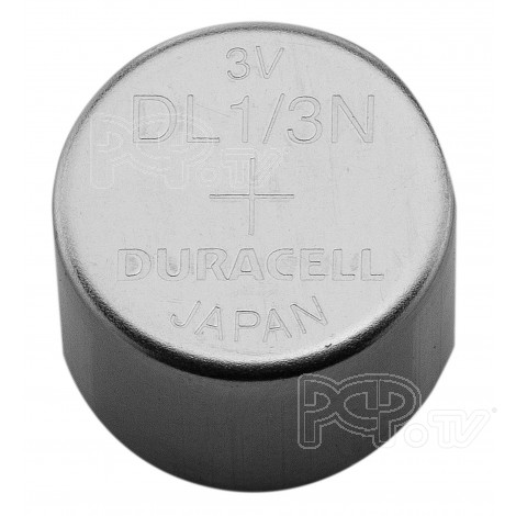Pile Lithium Bouton 1/3 N - Duracell