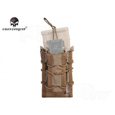 Poche Molle Taco Double Decker LV2 TAN - Emerson