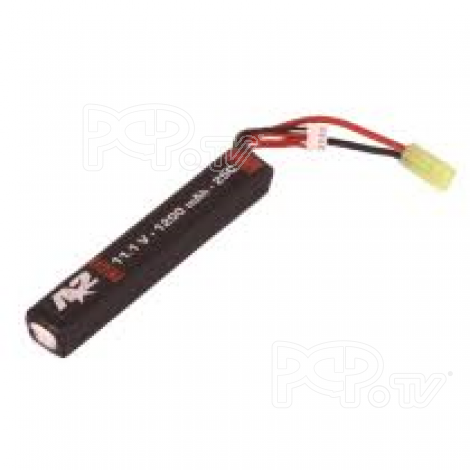 Batterie A2 Li-Po -11.1V 1500 mAh -25C - Long Stick airsoft