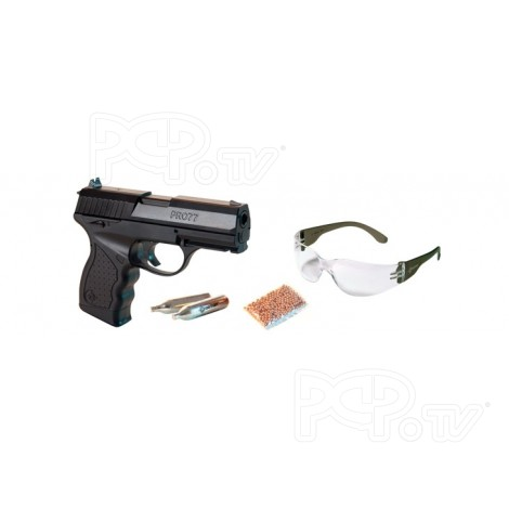 Pistolet plomb 4.5mm PRO77 Blowback Kit Complet - Crosman