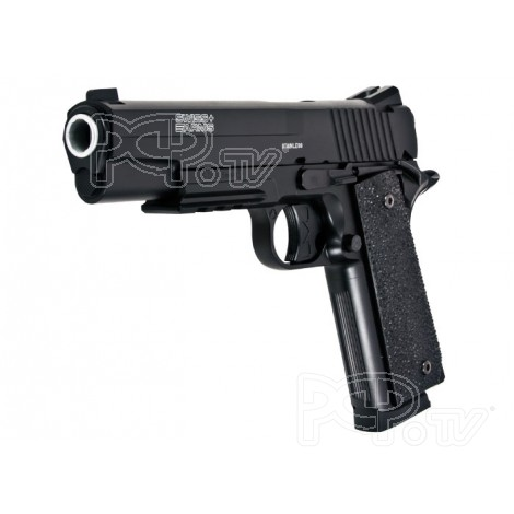 Pistolet 4.5mm P1911 Full metal - CO2 - KWC-Swiss Arms