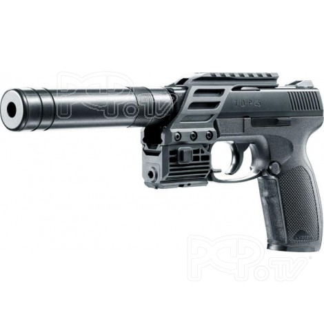 Pistolet 4.5mm TDP 45 Tactical Silencieux et Laser Umarex - CO2
