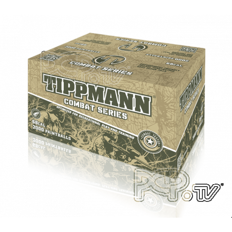 Billes paintball Tippmann Combat Series  Boite 2000