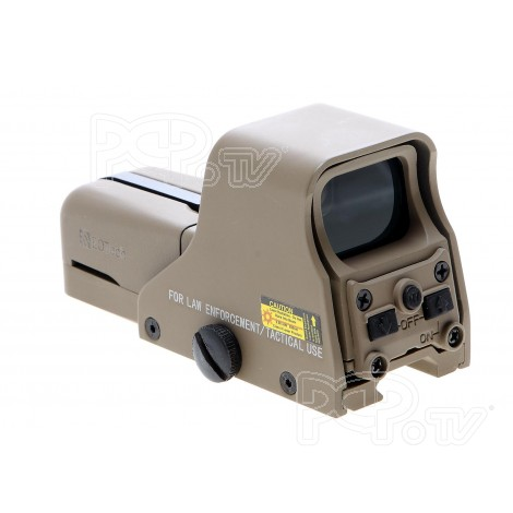 Point rouge Emerson type Eotech 552 Tan -EM1406