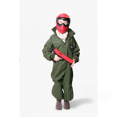 Combinaison Paintball Enfants Olive XXS (8-10 Ans) 135 cm