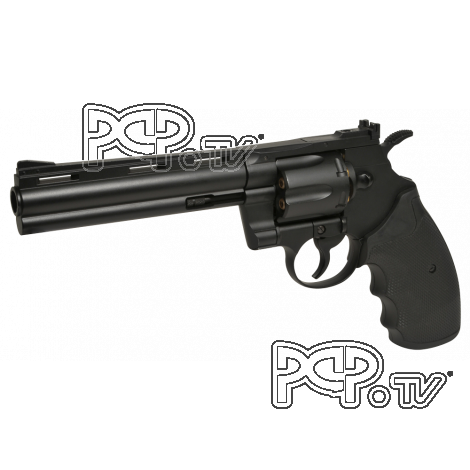 Revolver 4.5mm KWC Swiss Arms Python 357-6'' Full métal  Noir - CO2