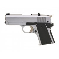 Pistolet Army 1911 Detonics Compact R45 Full metal Silver -GBB
