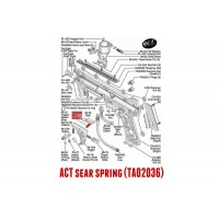 98 ACT et FT12 sear spring  11736