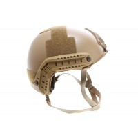 Casque tactique Emerson FAST  MH Molette - FDE Tan