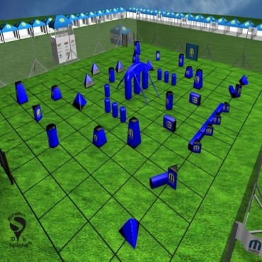 Kit Supairball Proseries 35 obstacles