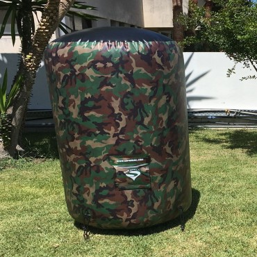 Obstacle Cylindre Camo - 2m paintball airsoft