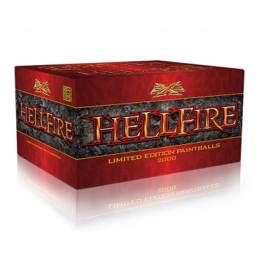 Billes  paintball DXS - HELLFIRE - Carton de 2000