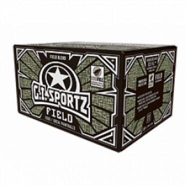 Billes paintball GI FIELD 100 % PEG - Carton de 2000
