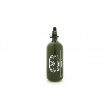 Bouteille 48 Ci Olive -0.8 L Pi Alu+Reg Totem Air Pi 3000 Psi Paintball