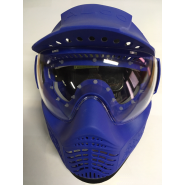 Masque Location tour de masque Silicone hygienique Bleu paintball indestructible