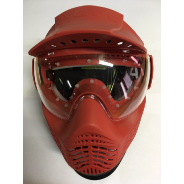Masque Location tour de masque Silicone hygienique Rouge paintball indestructible