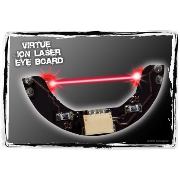 Yeux laser Rouge Virtue pour Ion-EOS paintball