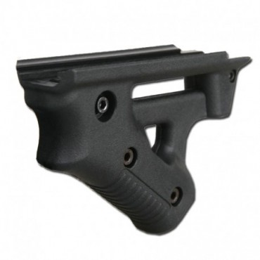 Angled Striker Rail Grip - Noir