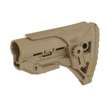 Corps de Crosse Type Fab Defense M4AR15 GL Schock - Tan Paintball Airsoft