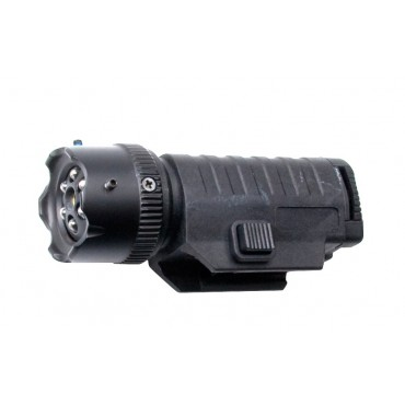 Lampe Led / Laser tactique Avec Rail picatinny AIRSOFT PAINTBALL