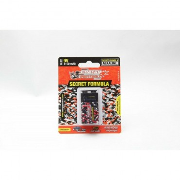 Batterie camo Energy Paintball 9V - Pack 1
