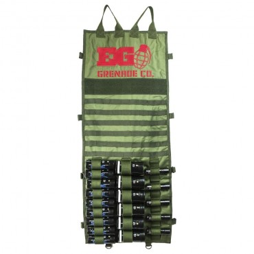 Display Molle pour fumigènes - Loadout Enolagaye Olive