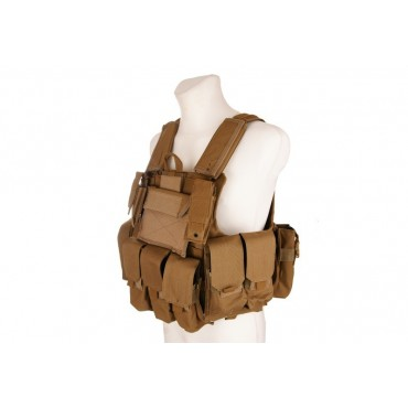 Veste Airsoft Multipoches Type CIRAS Molle complete-Tan-GFT