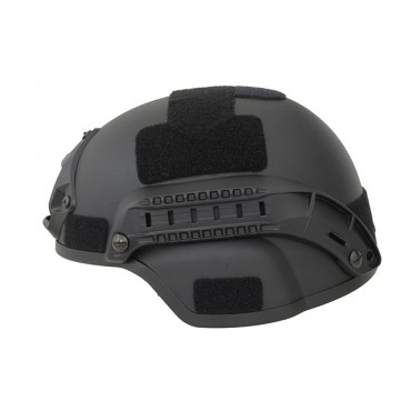 Casque SpecOps Type MICH - Rails et Support Cam - Black