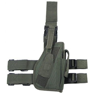 Holster Cuisse + porte mag + poche - Cordura - Olive - GFT