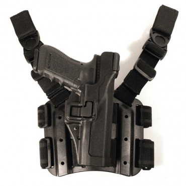 Holster CQC Type Serpa Level 3 - glock - droitier -Noir