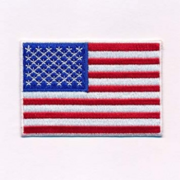 US Patch Couleur 80X50