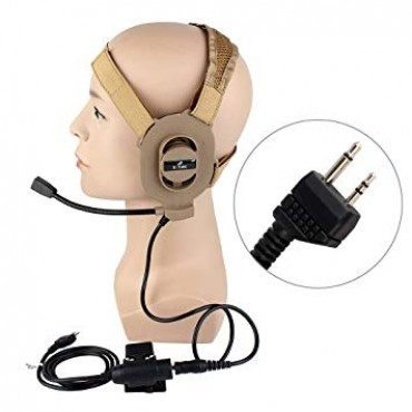 Casque radio Bowman Elite 2 - 021985 - Ztac - Tan