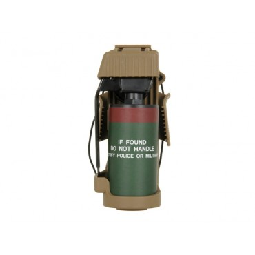 Fausse Grenade Avec Poche type MK13 Flashbang Coyote fake