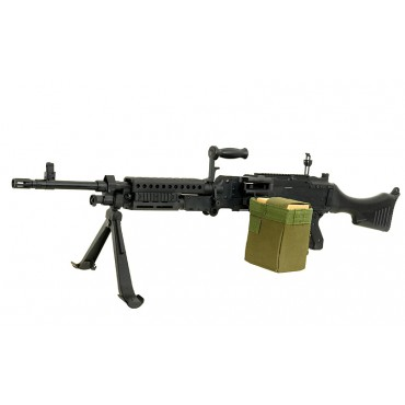 Mitrailleuse M240 Full metal - AEG Golden Eagle