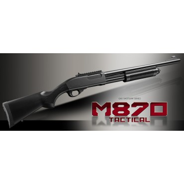 Fusil à pompe Remington M870 Full metal Tactical - Gaz - Marui