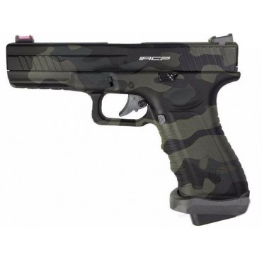 G17 APS CO2 GBB V2 BLACK Multicam airsoft