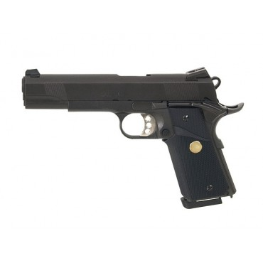 Pistolet Army 1911 MEU R27 Full metal Black -GBB