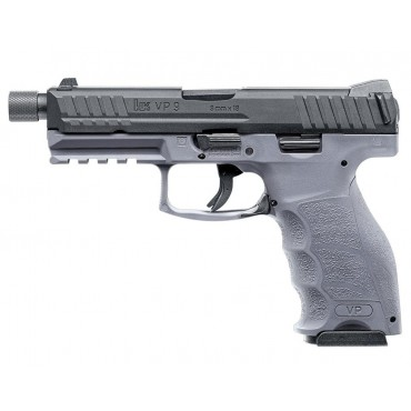 Pistolet H&K VP9 tactical Deluxe Edition - gaz Blowback- Gris - VFC