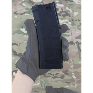 Chargeur AEG M4 FLASH Type PMAG 300 - Noir airsoft