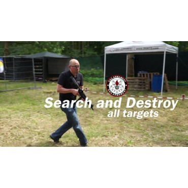 Jeu ciblerie G&G multifunctionnal Search and Destroy airsoft