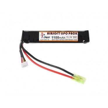 Batterie IPOWER Li-Po -11.1V 1100 mAh 20C -Mini