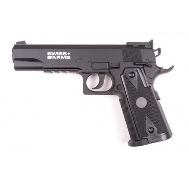 Pistolet 4.5mm P1911 Match - CO2 - KWC-Swiss Arms