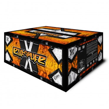 Billes paintball DUKE Extralife  Pearl Yellow yellow fluo - Carton de 2000