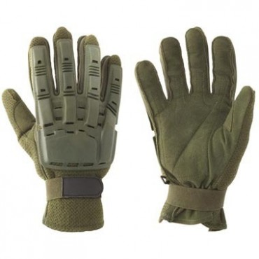 Gants DUKE+Coque Olive  taille L