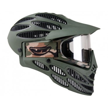 JT Masque Flex8 Full Cover Olive-Noir -23020