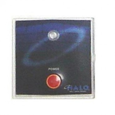 Halo Plaque Bouton