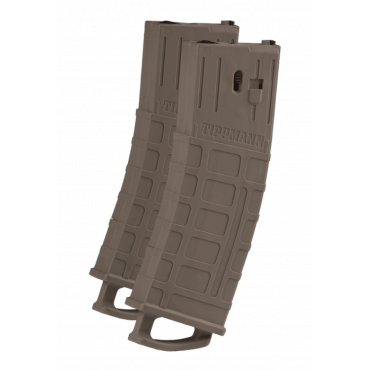 Magazine for TMC Tippmann Magfed - Pack 2- TAN