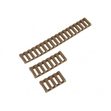 Pack 3 Couvre Rail Type Ladder Gomme (170 -74- 45mm ) - Tan - DUKE