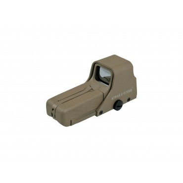 Point rouge type Eotech 552 Tan - Rouge Vert - Rail 21 mmm